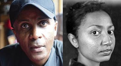 Ethiopian journalists Eskinder Nega and Reeyot Alemu. (Lennart Kjörling and IWMF)