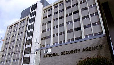 The building of the National Security Agency in Maryland. (AFP/Paul J. Richards)
