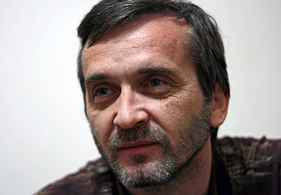 Sergei Naumov was accused, tried, convicted, and sentenced for hooliganism on Saturday, September 21. (Fergana News)