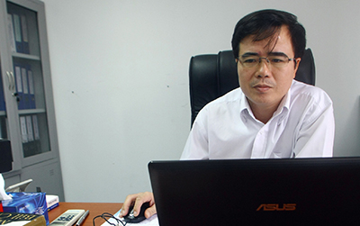 Le Quoc Quan has been sentenced to 30 months in prison. (AP/Na Son Nguyen)
