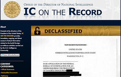 A comunidade de inteligência formada por de 16 agências dos EUA lançou um novo site após críticas de que as políticas de vigilância não eram transparentes. (CPJ)