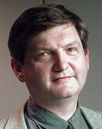 O repórter do New York Times James Risen prometeu ir para a cadeia, em vez de identificar sua fonte no tribunal. (AP / The New York Times)