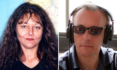RFI journalists Ghislaine Dupont, left, and Claude Verlon were found dead in Mali. (AFP/RFI)