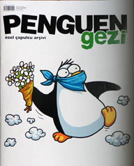 Penguins became a symbol of national resistance for the young after CNN Türk aired a documentary on penguins while CNN International was broadcasting scenes of protest from Gezi Park to the rest of the world. (CPJ)