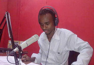 Sky FM Editor Nuradin Hassan has been held without charge since Sunday. (Shabelle)