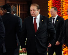 Pakistani Prime Minister Nawaz Sharif pledged to form a commission on journalist safety. But there are steps that could be taken more quickly. (Reuters/Dinuka Liyanawatte)