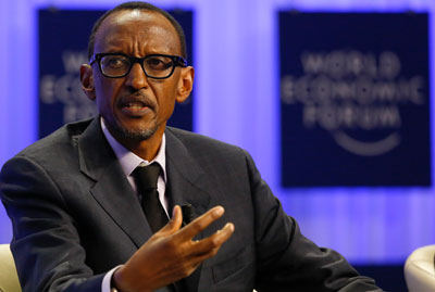 An international journalist was denied entry to Rwanda after discovering that a pro-government Twitter account had been falsified by someone within the office of President Paul Kagame, pictured. (Reuters/Ruben Sprich)