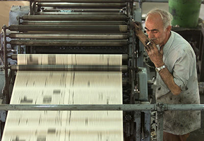 Kurdistan has several print outlets, but most are dominated by the ruling parties. (Reuters)