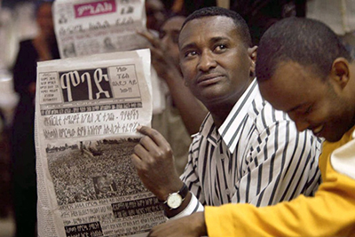Newspapers are significant in Ethiopia because there are no other independent media sources in the country. (Ethiopia Forums)