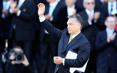 Viktor Orban was re-elected Hungary's prime minister by Parliament in May. (Reuters/Bernadett Szabo)
