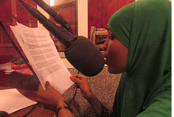 Fatima Yusuf was detained overnight by police in Puntland. (Puntland Sun)