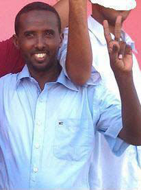 Radio journalist Mohamed Ibrahim Waiss has been held since Friday. (La Voix de Djibouti)