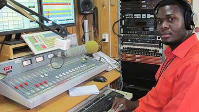 Radio Miraya reporter George Livio has been held by security forces in South Sudan since August 22. (Miraya FM)