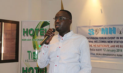 Hassan Gessey, Dalsan Radio director and chairman of Somali Independent Media Houses Association, has been arrested. (SIMHA)