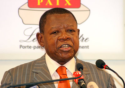 Congolese Information Minister Lambert Mende has ordered the shutdown of multiple radio stations in the Congo. (Radio Okapi)