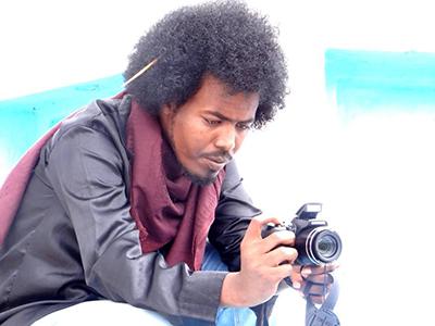 Kalsan TV reporter Abdulkadir Hassan Jokar is one of three journalists injured during a fatal bombing in Somalia on December 5. (NUSOJ)