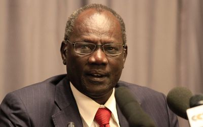 Information Minister Micheal Makuei Lueth has told South Sudan's media they must put their country first when reporting. (Eye Radio)