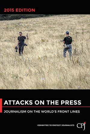 Attacks on the Press book cover