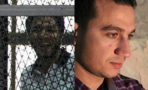 From left: Abdullah al-Fakharany (Twitter/Free Fakharny); Mohamed al-Adly (Facebook/Freedom to Mohamed Adli)