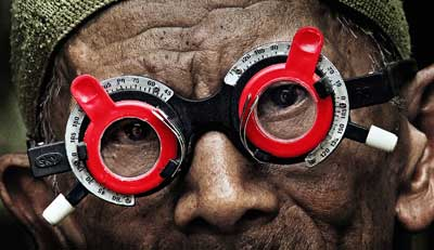 A scene from Joshua Oppenheimer's documentary 'The Look of Silence.' (Courtesy of Drafthouse Films and Participant Media)