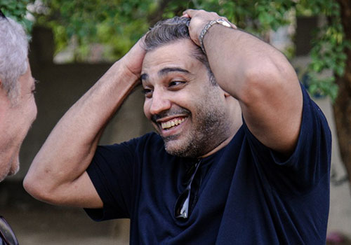 Al-Jazeera English bureau chief Mohamed Fadel Fahmy reacts after his release from prison in September after being pardoned by the Egyptian president. Fahmy was arrested in December 2013. (AFP)