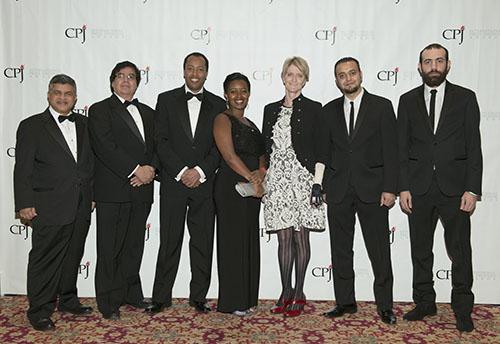 Honorees of CPJ's 2015 International Press Freedom Awards (CPJ/Barbara Nitke)