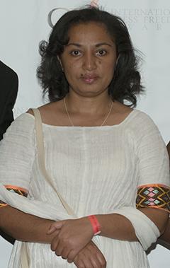 Reeyot Alemu spent almost 1,500 days in jail for her journalism. (Barbara Nitke/CPJ)