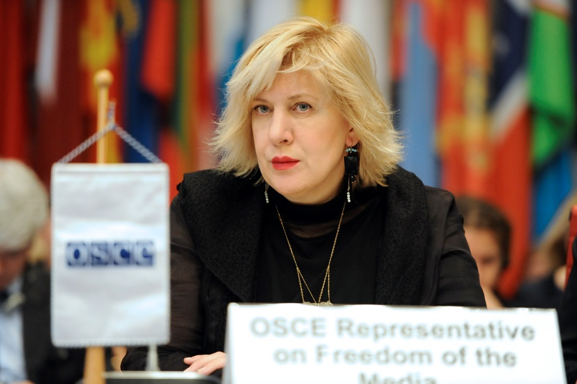 The OSCE's representative on freedom of the media was shocked by the number and nature of threats that women journalists reported having experienced on a daily basis. (OSCE/Micky Kroell)