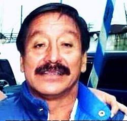 El periodista de radio guatemalteco, Álvaro Alfredo Aceituno López, en una captura de pantalla de un video de YouTube, fue asesinado el 25 de junio de 2016. (CERIGUA)