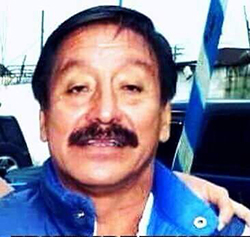 Guatemalan radio journalist Álvaro Alfredo Aceituno López, shown here in a frame from a video posted to YouTube, was murdered on June 25, 2016. (CERIGUA)