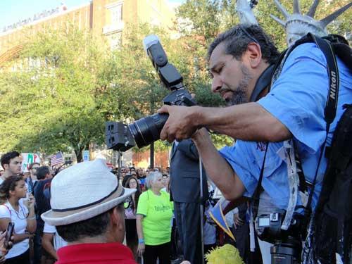 El periodista freelance Jay Torres, cuyo cuerpo fue encontrado el 13 de junio, había contribuido a La Estrella casi 20 años. (Rebecca Aguilar)