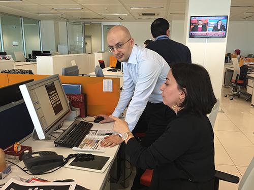 Before fleeing, Sevgi Akarçeşme was editor-in-chief of Today's Zaman in Turkey. (Sevgi Akarçeşme)