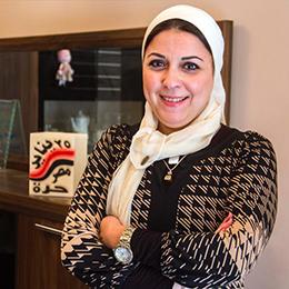 Egyptian blogger Esraa Abdel Fattah is appealing a travel ban imposed since 2015. (Esraa Abdel Fattah)