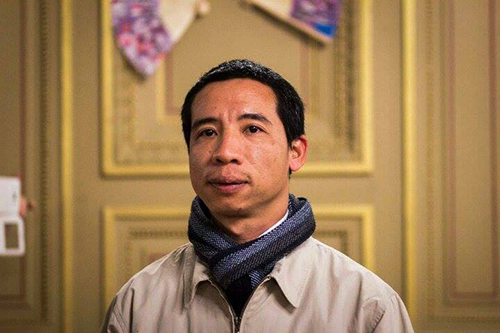 Vietnamese blogger Dang Xuan Dieu is forced to live in exile as part of conditions for his early prison release. (Family handout)