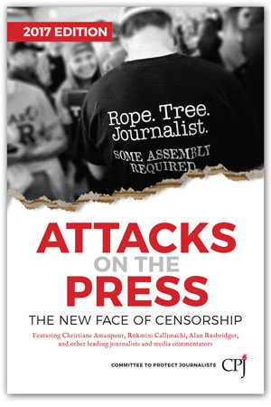 Attacks on the Press book cover