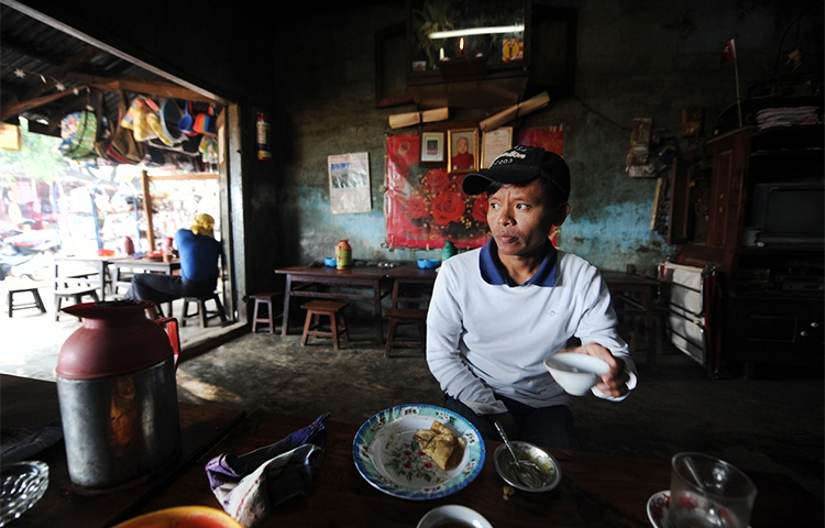 Irrawaddy reporter Thein Zaw, seen in this undated picture, is detained with two other journalists in Myanmar's Shan state. (Steve Tickner)