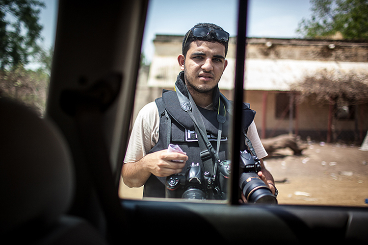 Egyptian photojournalist Mohammed Elshamy was forced to leave his home country for fear of arrest. Elshamy is showcasing his work as part of CPJ's Lens in Exile Instagram series. (Andrei Pungovschi)