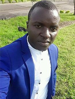Atia Tilarious Azohnwi, of The Sun, was jailed on terror charges in February 2017. (Atia Azohnwi)