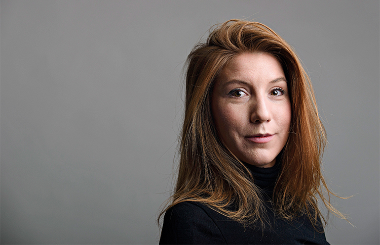 Swedish journalist Kim Wall went missing while reporting on a submarine. Danish police have identified a body as belonging to the freelancer. (TT News Agency/Tom Wall/Reuters)