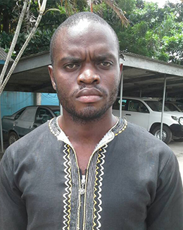 Police in Cameroon detained Mofor Ndong for about eight months. (Credit withheld for security reasons)