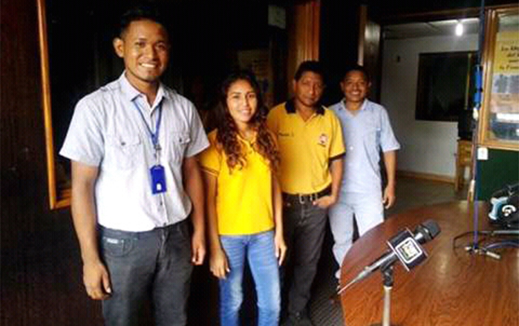 Journalists from Tane Tanae, pictured. The news site faces harassment and threats over its critical coverage. (Amador Medina)