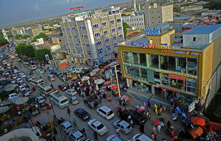 A general view of Hargeisa in May 2016. A court in the city sentenced a Somaliland journalist to 18 months in prison. (AFP/Mohamed Abdiwahab)
