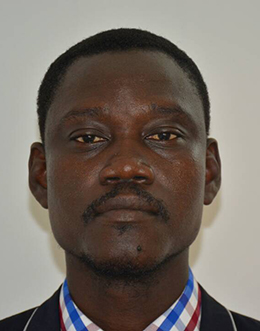 Juda Allahondoum, pictured in 2016, was arrested on October 17. (Moussa Nguedmbaye)