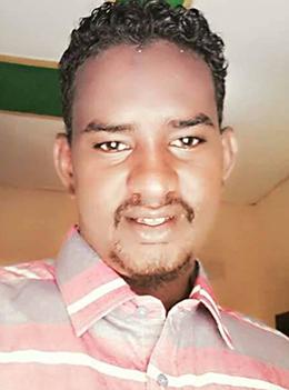 Mohamed Adan Dirir is convicted of criminal defamation and false news. (Abdikarim Saed Salah)