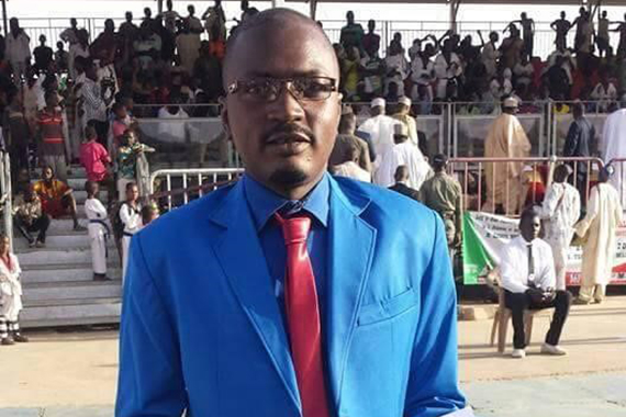Broadcast journalist Baba Alpha was accused of using false identity documents in retaliation for his reporting. (Mohamed Alpha)