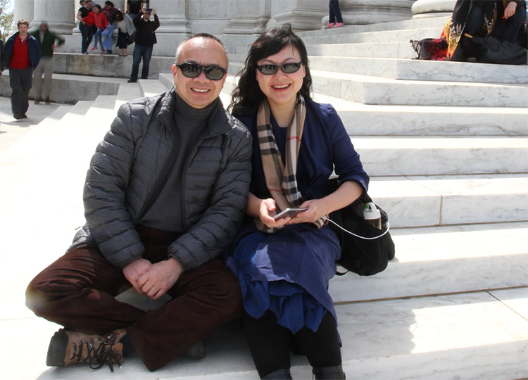 American-Chinese journalist Chen Xiaoping and his wife, Li Huaiping, who went missing in September after Chen ran a series of interviews with a prominent Chinese critic. (Family photo)