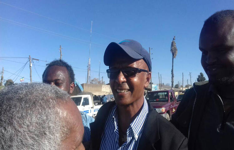 Ethiopian journalist Eskinder Nega was released on February 14, 2018, after serving nearly seven years in prison. (Befekadu Hailu)