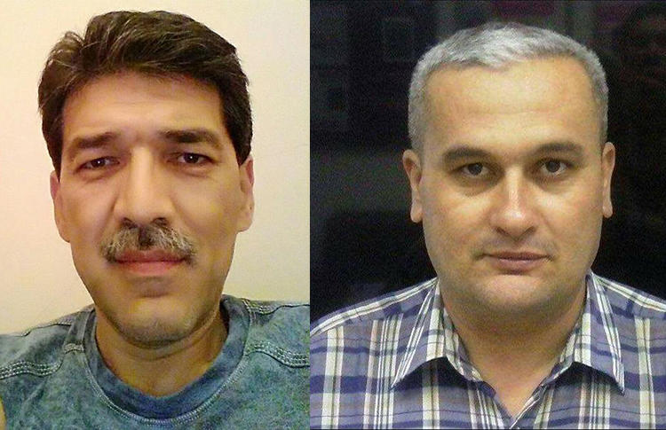 Rights groups call for an investigation into claims jailed journalists Hayot Nasriddinov, left, and Bobomurod Abdullaev, were tortured and mistreated in Uzbekistan. (AsiaTerra/Fergananews)