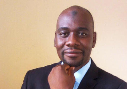 Cameroonian journalist Ahmed Abba. (Credit withheld)