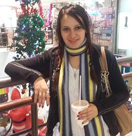 Reporter Mai El-Sabagh is detained in Egypt. (Karam Zakarya)